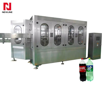 3000-4000bph Pet Bottle Carbonated Drinks Filling Machine