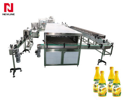 5000-6000bph Complete A To Z Automatic Hot Filling Machine Juice Production Line