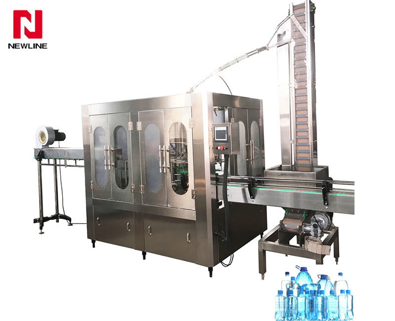 2000-3000bph Water Bottle Filling Machine Filling Capping Machine