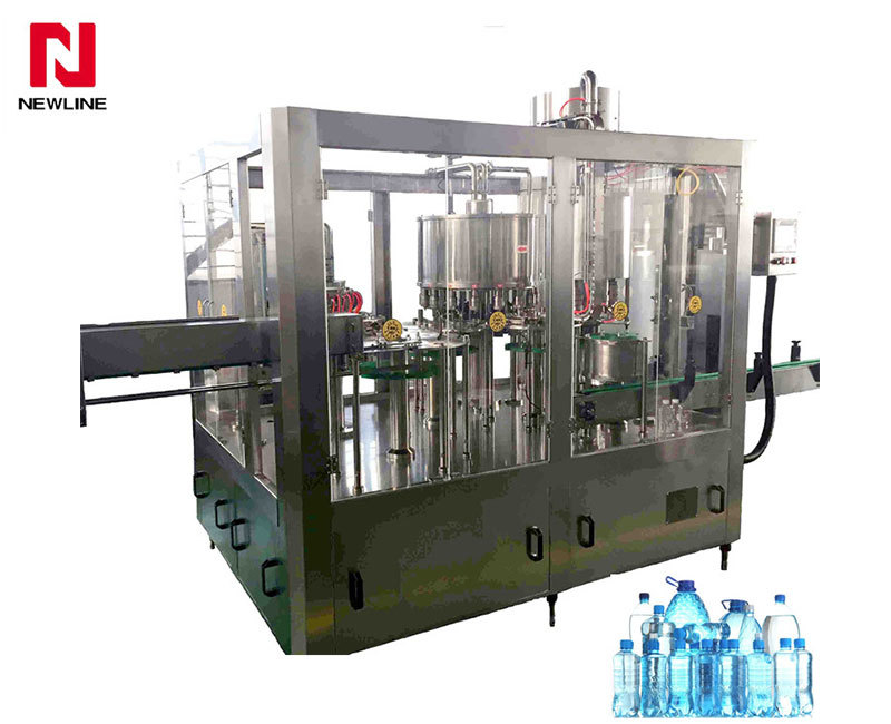 6000-7000bph Automatic Washing  Capping 3-in-1 Filling Machine