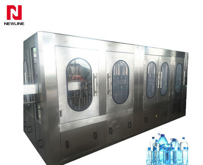 Automatic Pet Bottle Filling Machine Washing Capping 3-in-1 Filling Machine 12000-13000bph