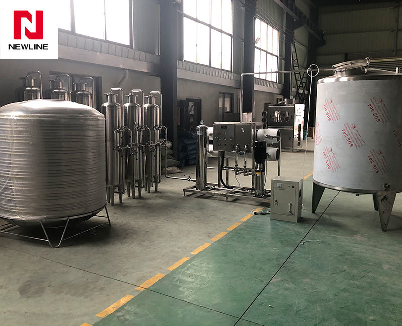 4000L  Ro Water Treatment System Per Hour Commercial Reverse Osmosis System