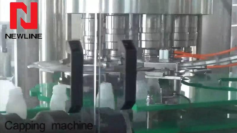 Automatic Bottle Capping Machine Bottle Filling Machine