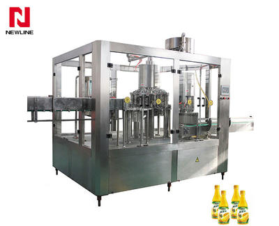 5000-6000bph Automatic Juice Hot Filling Machine Beverage Filling Machine