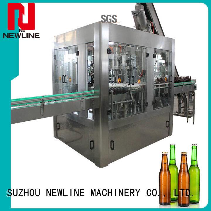 NEWLINE carbonated filling machine company bulk production