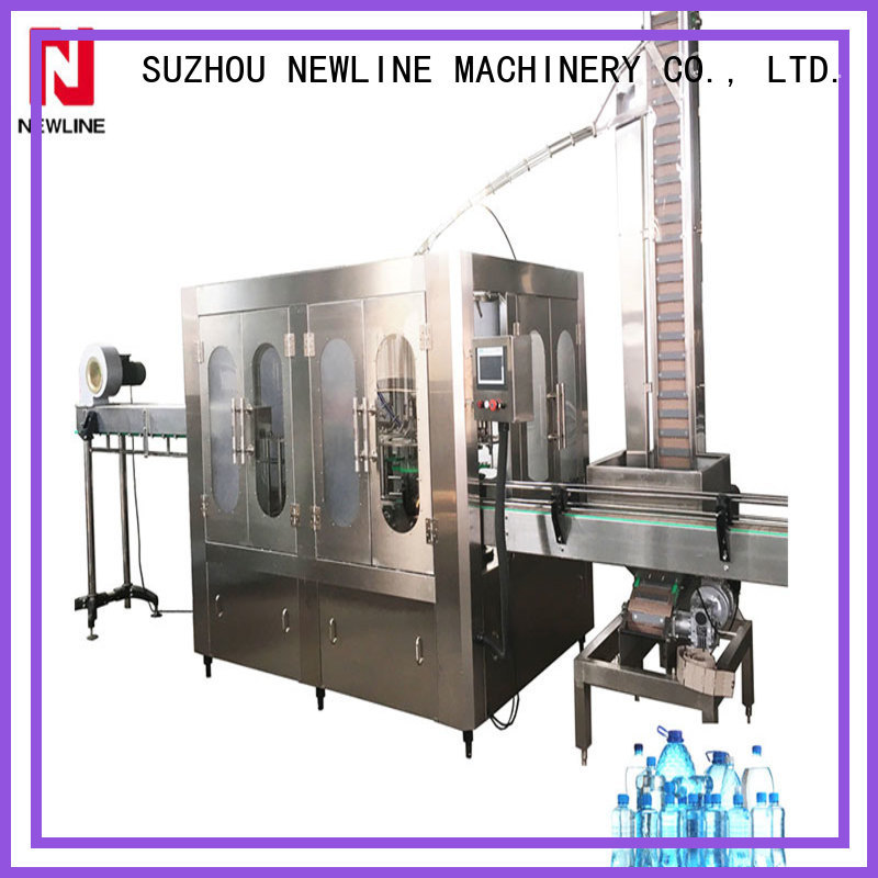 NEWLINE Latest fully automatic bottle filling machine factory for promotion