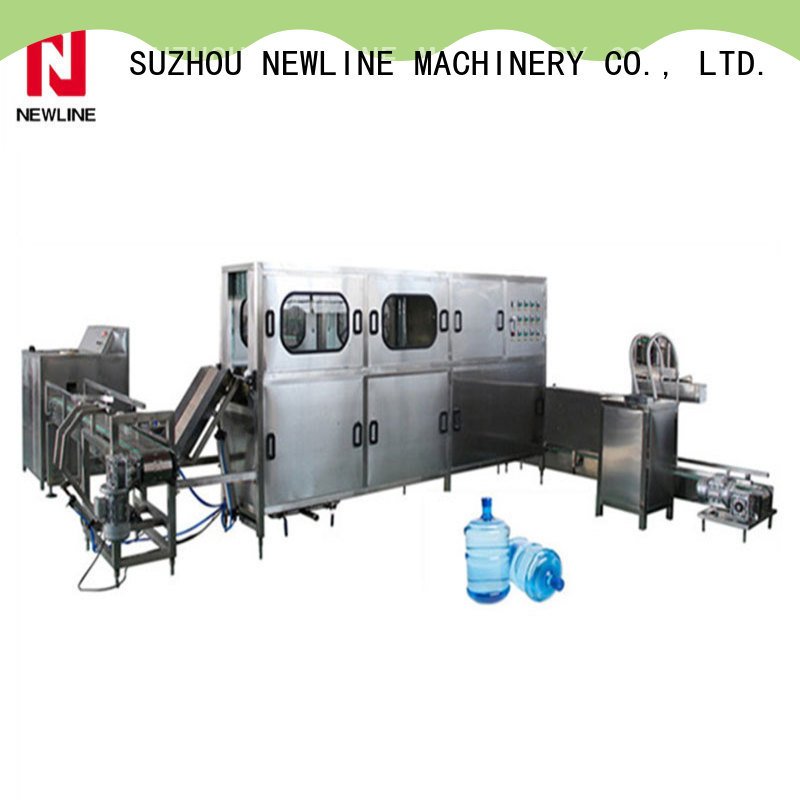 NEWLINE mineral water bottling plant company for packaging