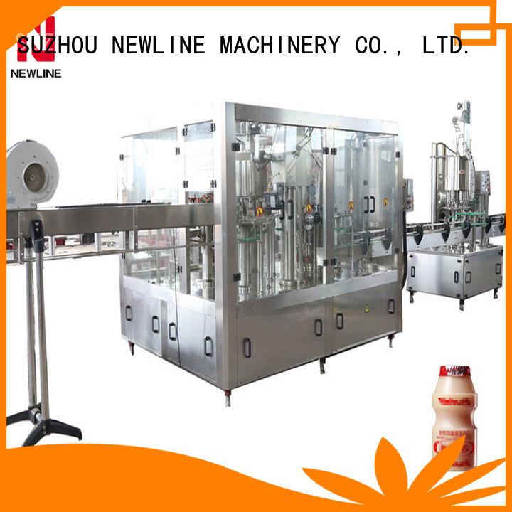 NEWLINE juice bottling machine factory bulk production