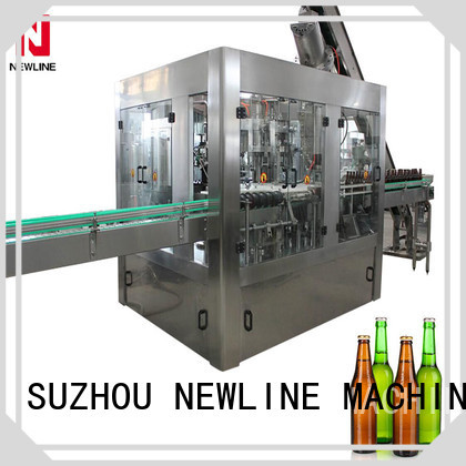 NEWLINE glass bottle soda filling machine for business bulk buy