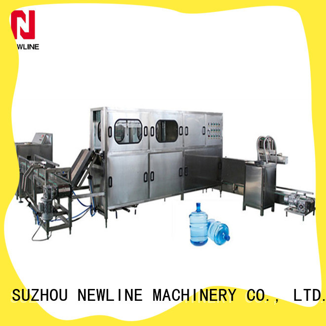 NEWLINE Latest gallon filling machine Supply for packaging