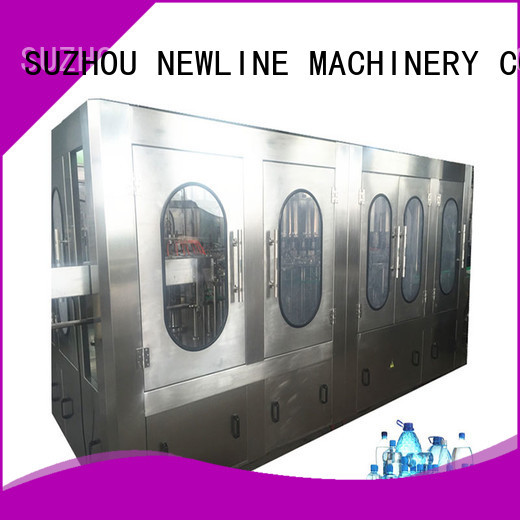 NEWLINE bottle water filling machine Supply for packaging