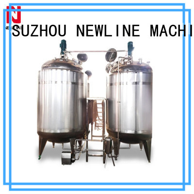 Custom beverage mixing tank factory on sale