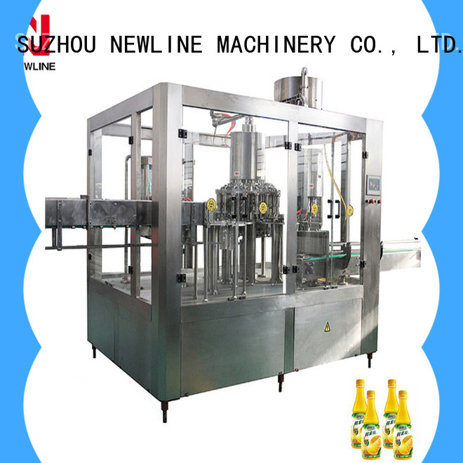 NEWLINE Wholesale juice filling machine Supply for promotion