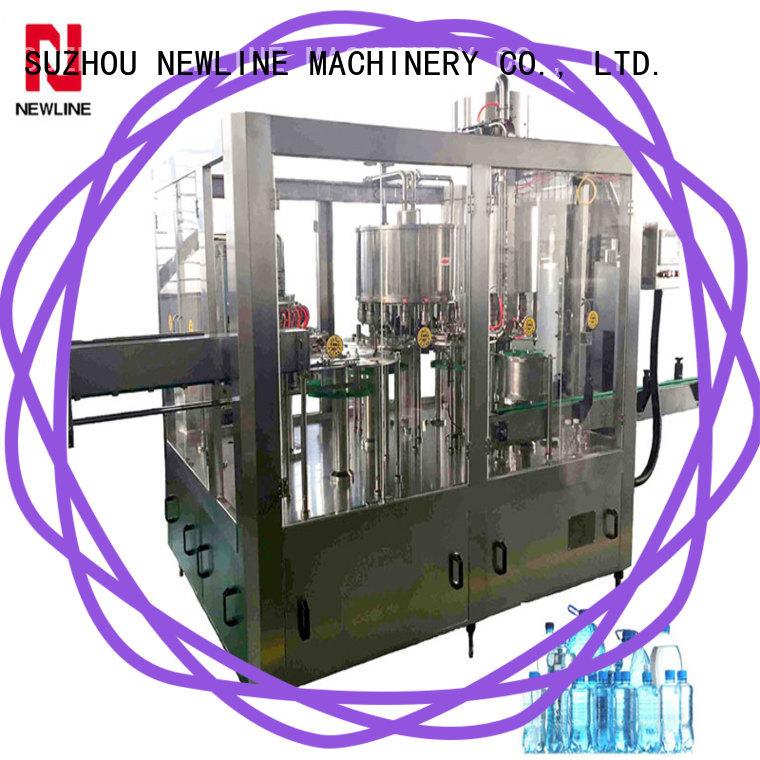 NEWLINE Wholesale drinking water bottle filling machine company on sale
