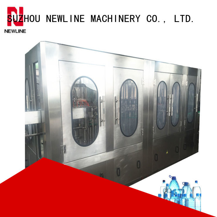 NEWLINE Best bottled water machinery suppliers manufacturers for promotion