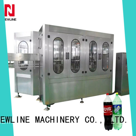 NEWLINE Best carbonated drink filling machine Supply for sale