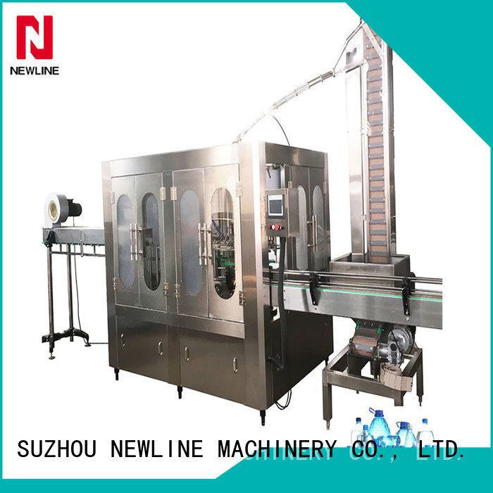 NEWLINE Custom bottle water filling machine Supply for packaging