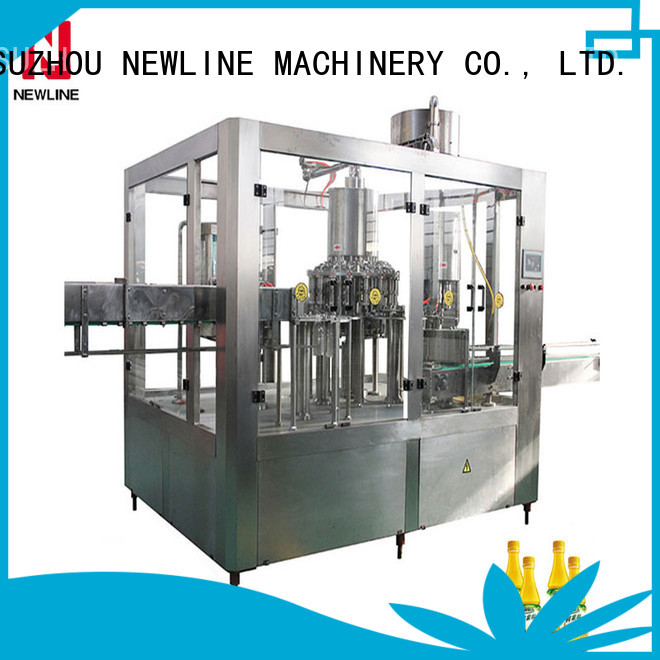 NEWLINE juice filling machine factory for packaging