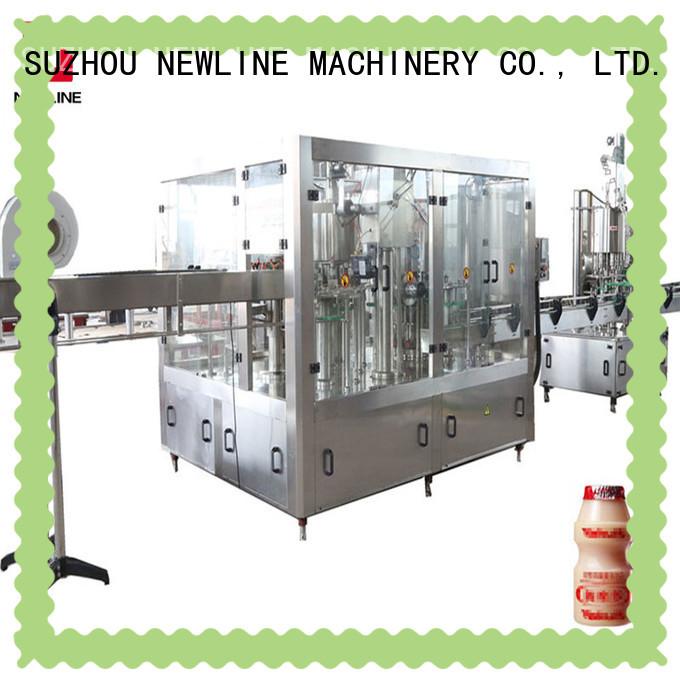 Custom milk bottle filling machine company for packaging
