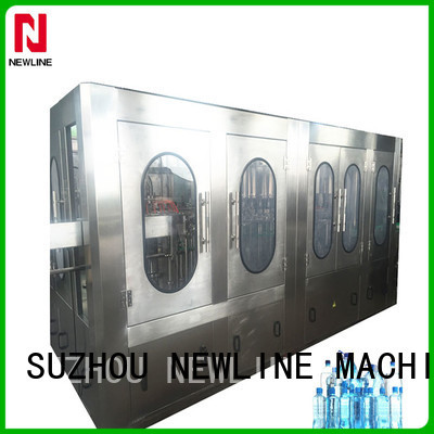 NEWLINE bottle filling machine factory for sale