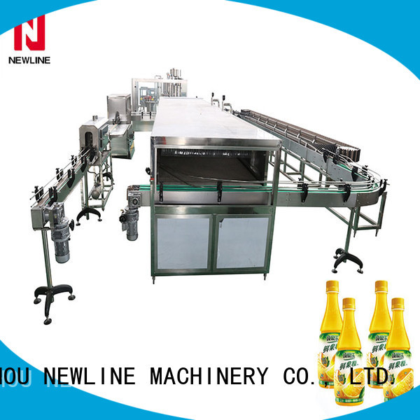 Top hot filling machine Supply for packaging