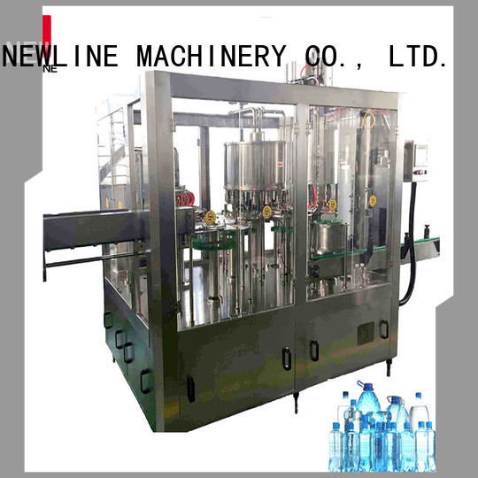 NEWLINE Top bottle filling machine Suppliers on sale