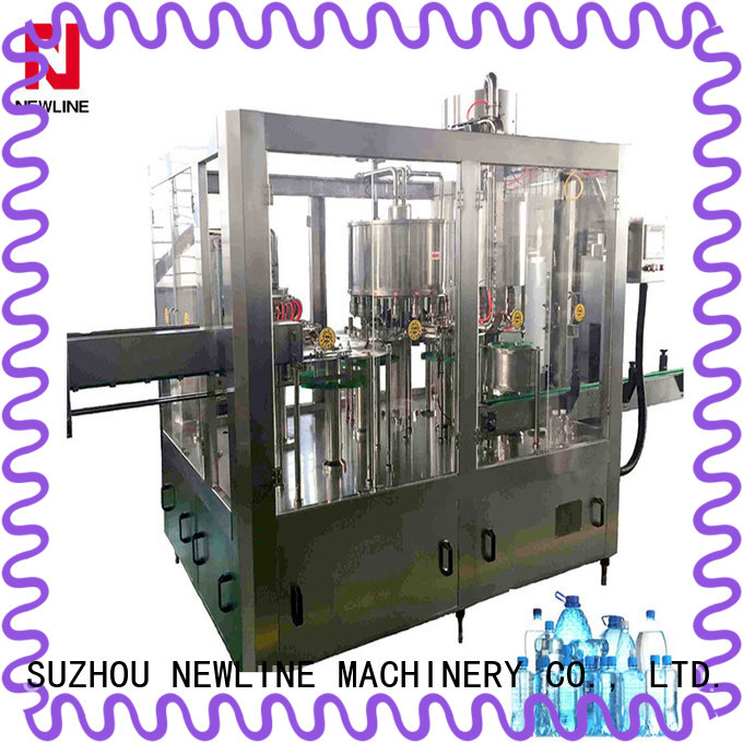 NEWLINE mineral water filling plant Supply for packaging