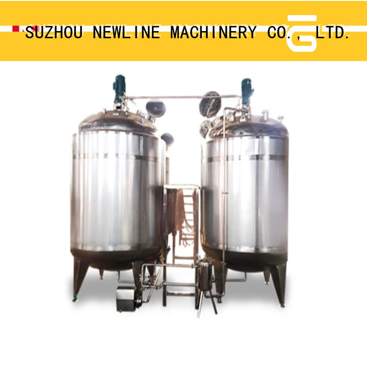 NEWLINE High-quality beverage blending system Supply for packaging