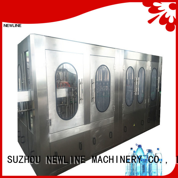 NEWLINE Best bottle water filling machine for business bulk production