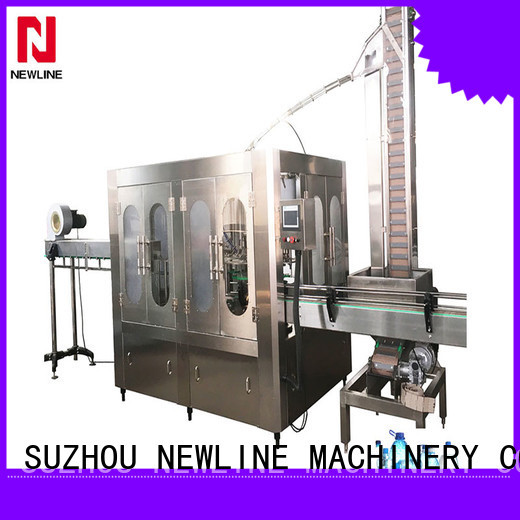 NEWLINE 3 in 1 water filling machine Supply for packaging