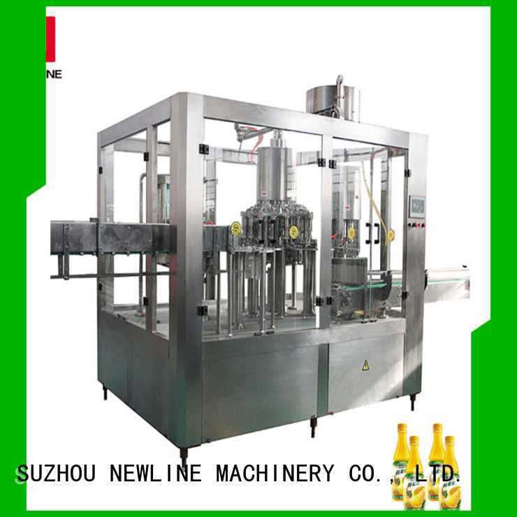 NEWLINE High-quality juice bottling machine factory on sale