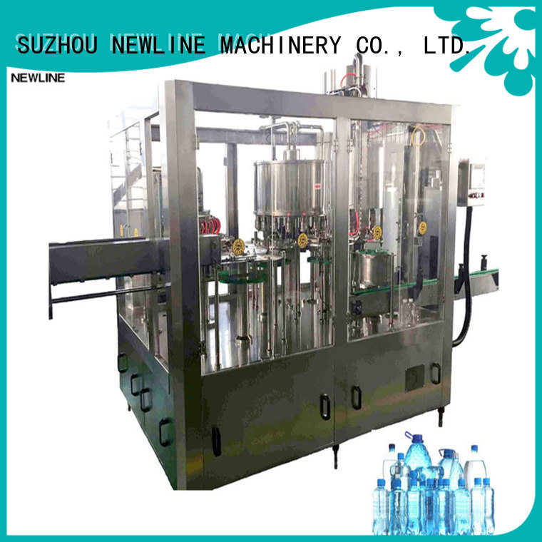 NEWLINE Custom bottle filling machine manufacturers on sale