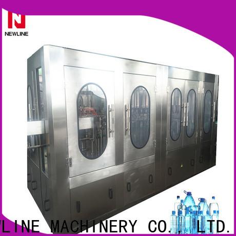 NEWLINE bottle filling machine for business on sale