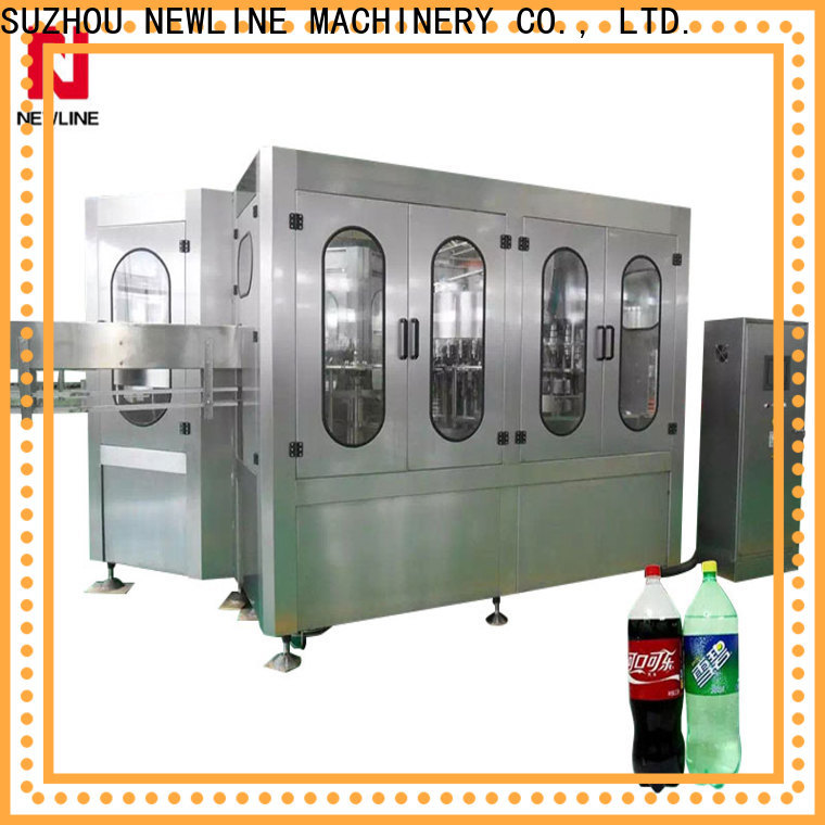NEWLINE carbonated water filling machine Supply for packaging