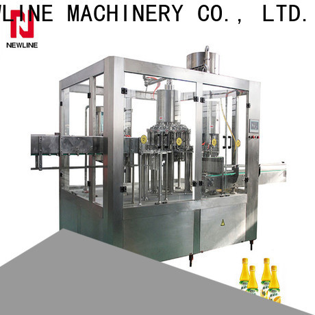 NEWLINE fully automatic liquid filling machine for business on sale