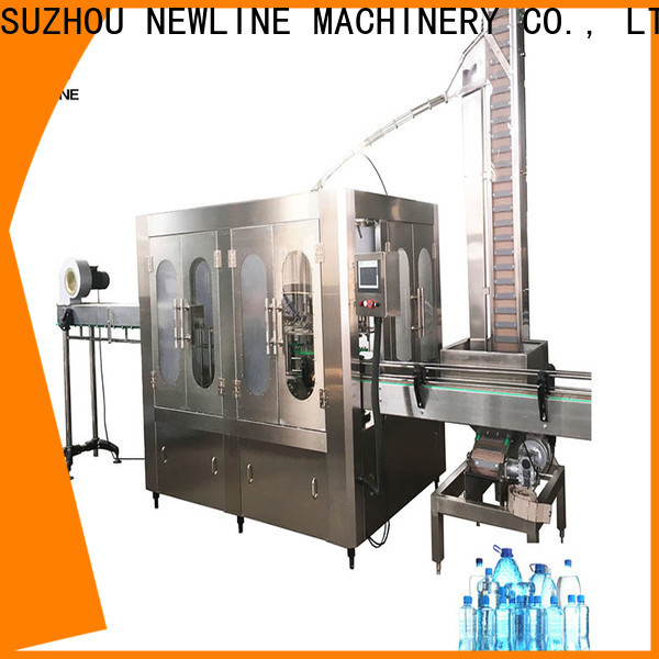 NEWLINE fully automatic bottle filling machine company for sale