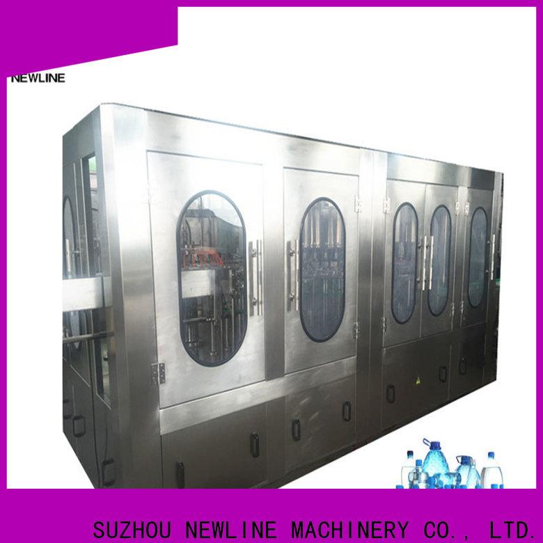 NEWLINE Best mineral water bottling plant manufacturer for business bulk production