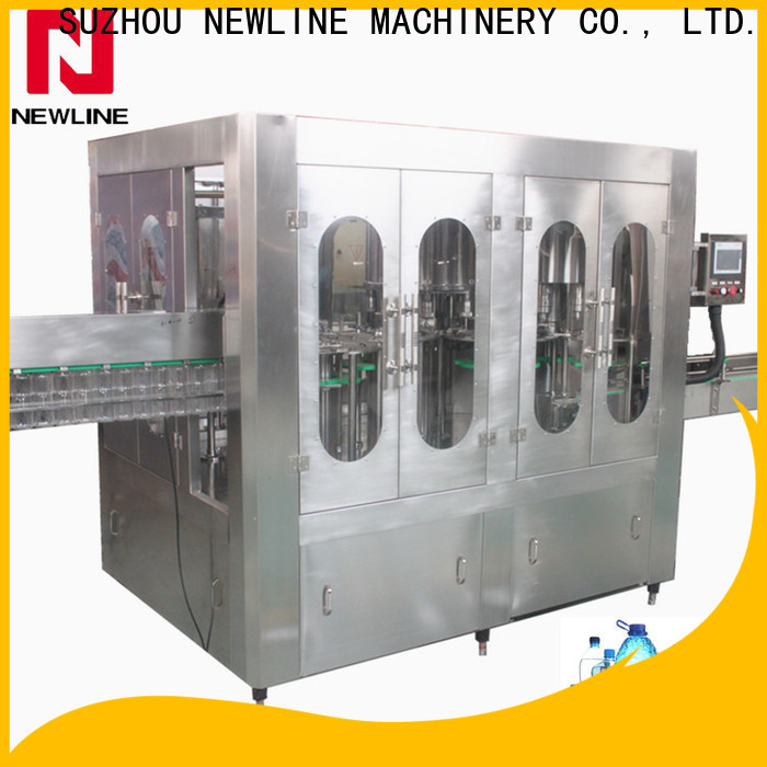 NEWLINE automatic water filling machine factory for packaging