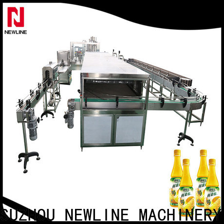NEWLINE automatic liquid filling machine factory for packaging