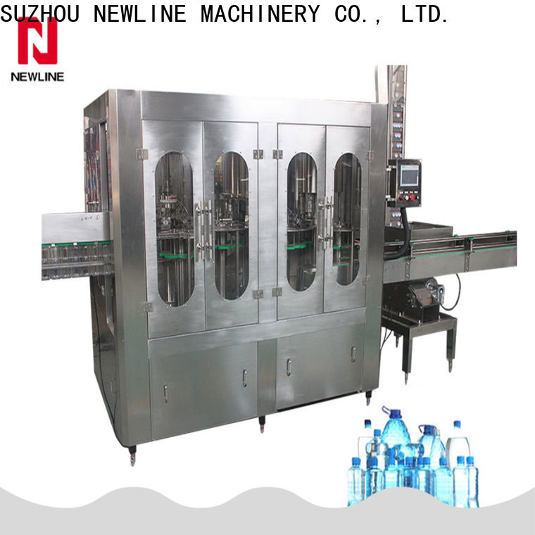 NEWLINE Top filling machine factory for promotion