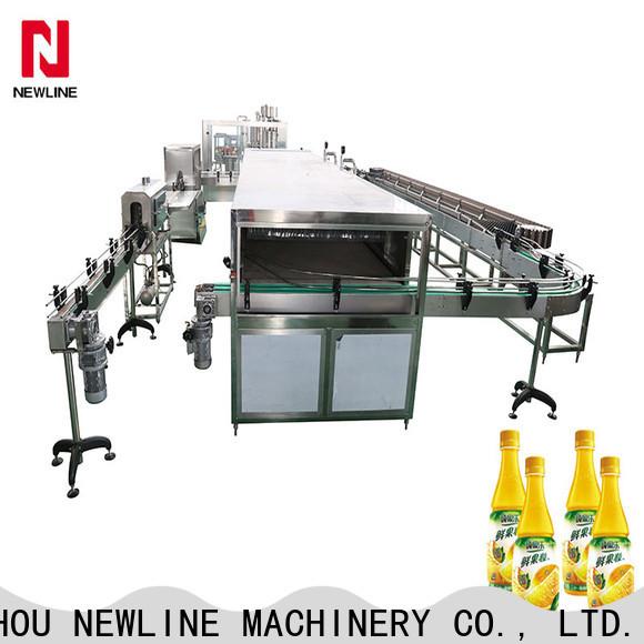NEWLINE High-quality liquid filling machine manufacturers bulk production
