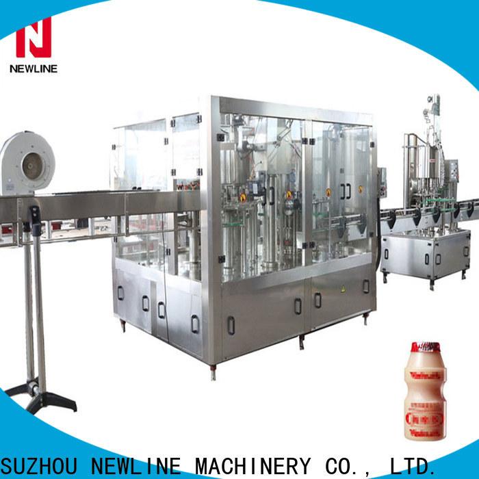 NEWLINE Top liquid filling machine manufacturer factory bulk production
