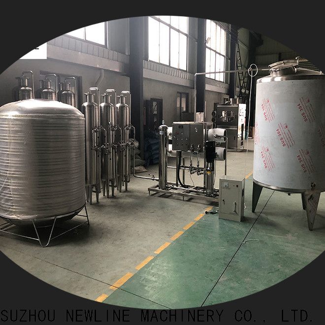 NEWLINE Latest ro water treatment system company for promotion