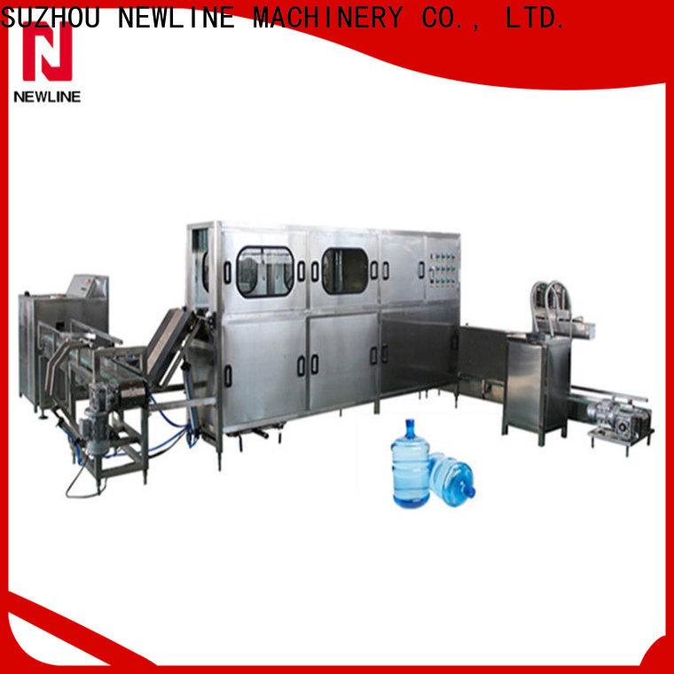 NEWLINE Custom 5 gallon water bottle filling machine Suppliers bulk production