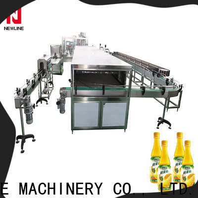 New juice bottling machine Supply for packaging