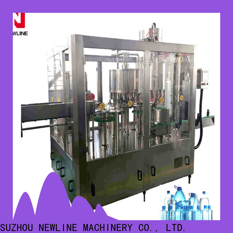 NEWLINE automatic water bottle filling system Supply for packaging