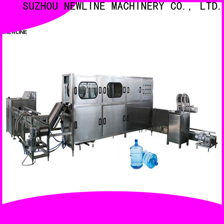 NEWLINE Latest water jar filling machine Supply for sale