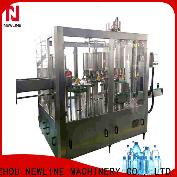 NEWLINE Top water bottling line Supply for packaging