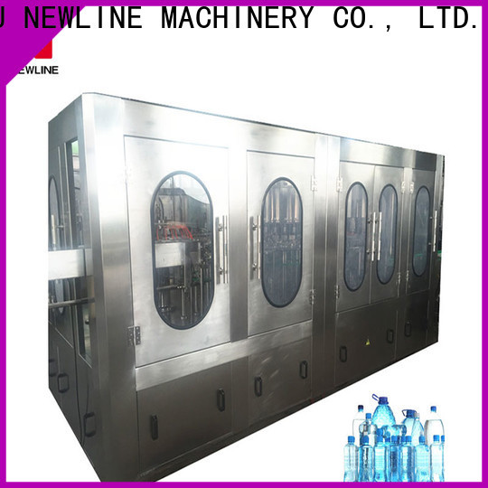 NEWLINE High-quality small scale water bottling equipment company bulk buy