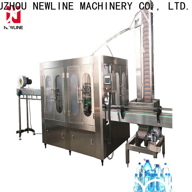 NEWLINE Custom water bottle manufacturing plant cost factory on sale